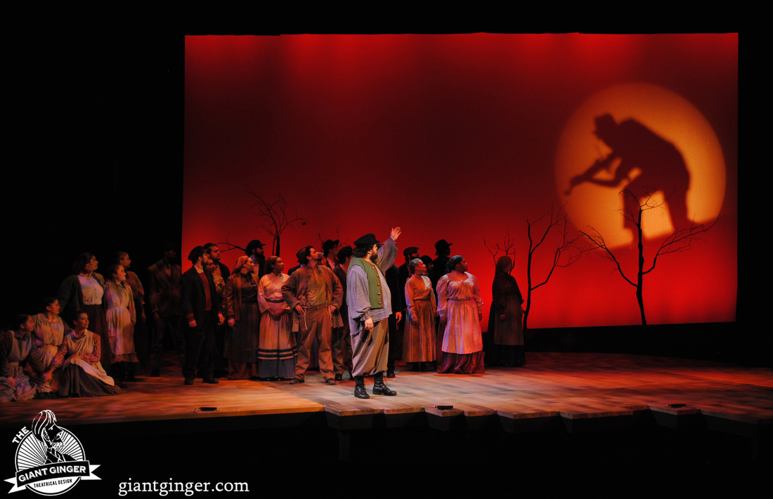 Fiddler On The Roof Giant Ginger Theatrical Design